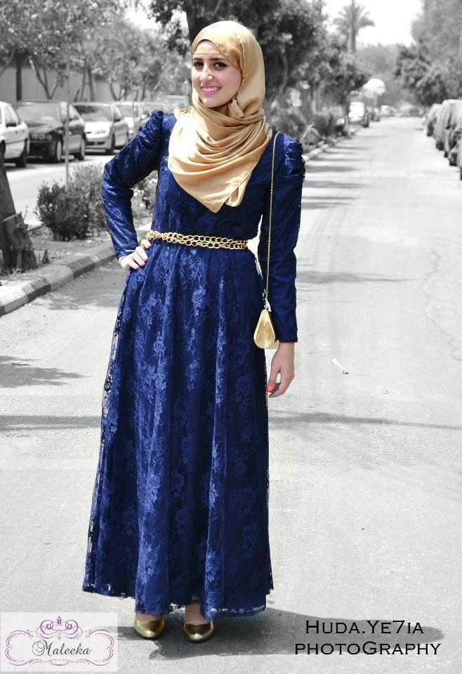 #Maleeka #Hijab Dress Design 2013 ❤ hijab style