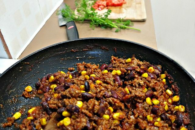 Cheap And Tasty Chilli Minced Beef And Beans Comfort Food