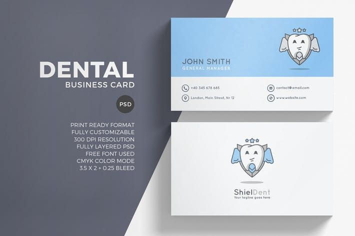 Dental Business Card Template #tag #tooth  • Download here → http://1.envato.market/c/97450/298927/4662?u=https://elements.envato.com/dental-business-card-template-KE8BDD