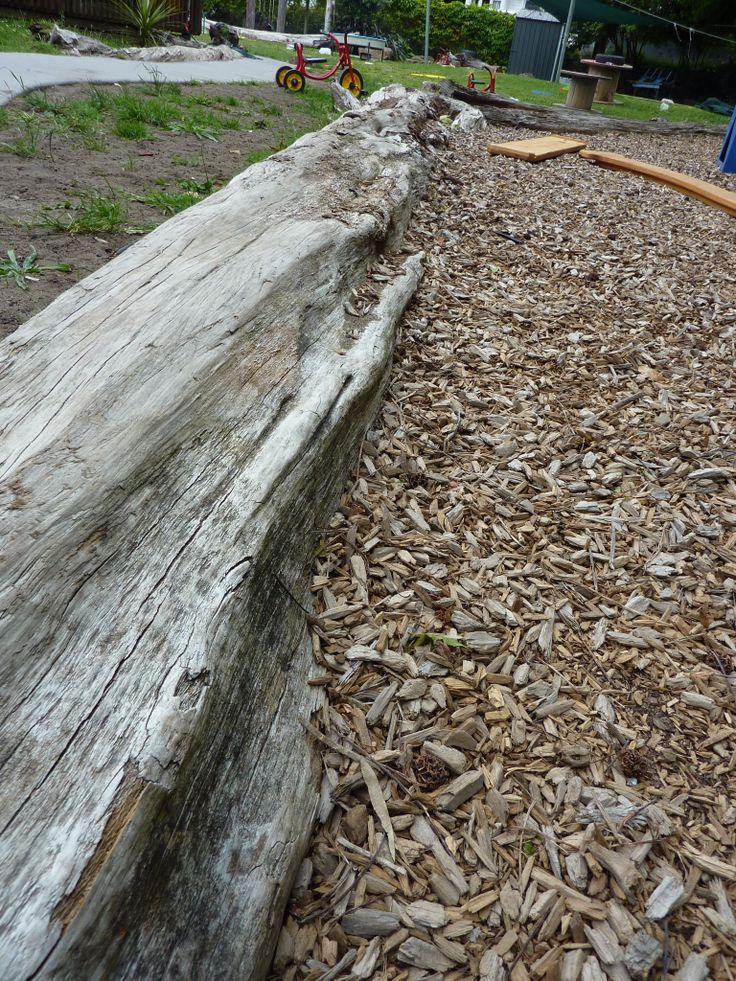 Logs retaining softfall
