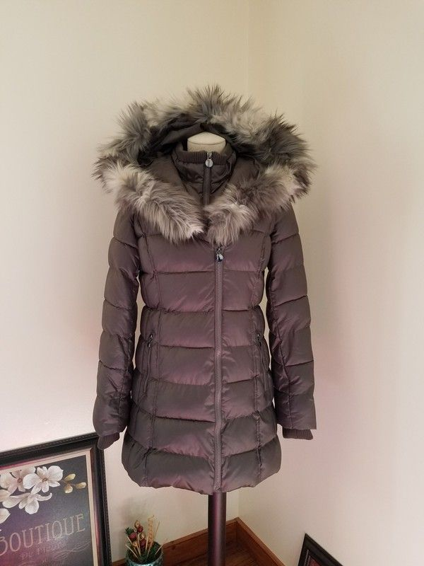b2c0bcf8fb $220 APT 9 Faux Fur Hooded Puffer Coat - Brand New in pckg | Size Small  Color - Gunmetal This is my lowest. Featuring heavyweight puffer styling,  ...