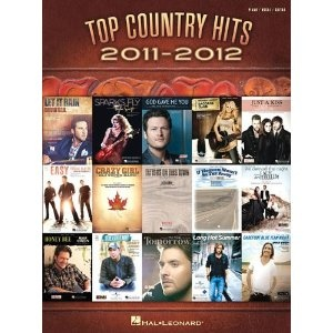 Top Country Hits of 2011-2012: Amazon.ca: Hal Leonard Corp.: Books