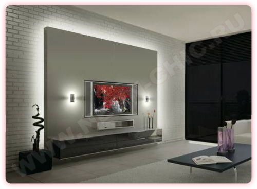 Different kind of ambi light painel para tv pinterest - Wandgestaltung hinter kaminofen ...