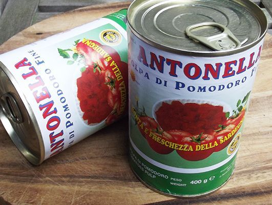 Antonella Chopped Tomatoes 1 Tin of 400Gr