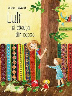 """Luli și căsuța din copac - Iulia Iordan: Varsta: 3-10 ani; Luli este o fetita care locuieste intr-o casa la marginea orasului, acolo unde incep campia si padurea. E fetita din """"Calatorie printre ierburi si lumina"""" Acum, hoinarind si jucandu-se prin padure, Luli invata despre tei, plop, salcam, stejar si alti copaci pe care-i intalnim la tot pasul.   • Informații și fișe botanice • Jocuri, ghicitori, zicători"""