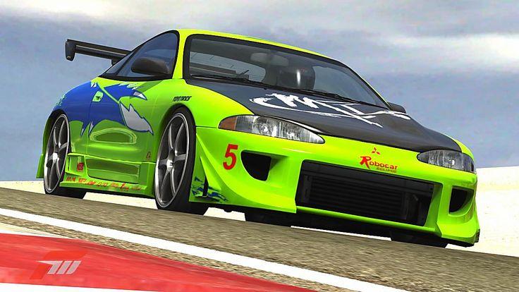 Mitsubishi Eclipse GSX de AnTho 34 dans la vitrine de Forza Motorsport 3