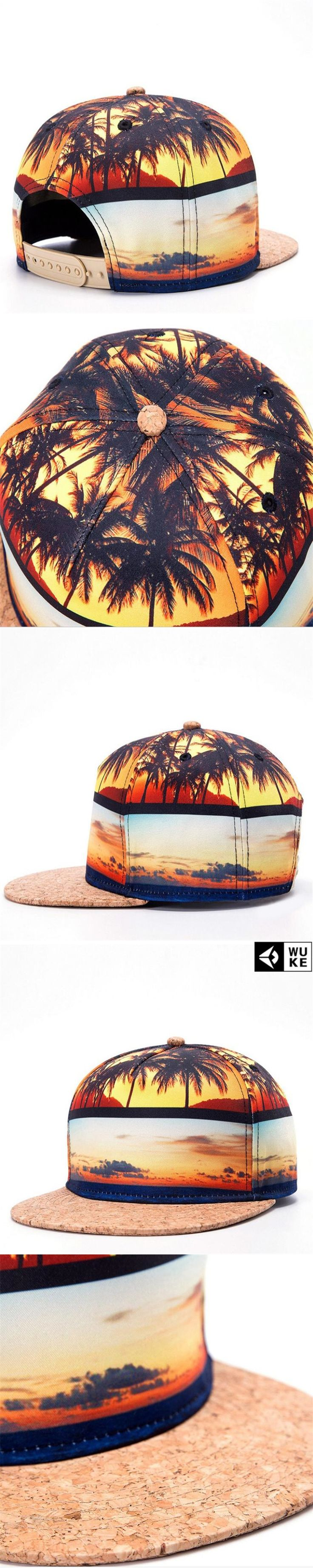 WuKe 2017 Summer Style Men Baseball Caps Hip Hop Snapback Hats Rock Caps Fashion Casquette Gorras Boen Snapback Caps