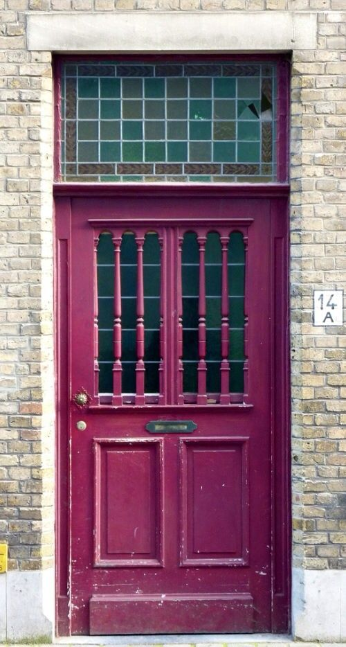 Door in Bruges Belgium & 217 best COLOR - Purple Doors images on Pinterest | Windows ... Pezcame.Com