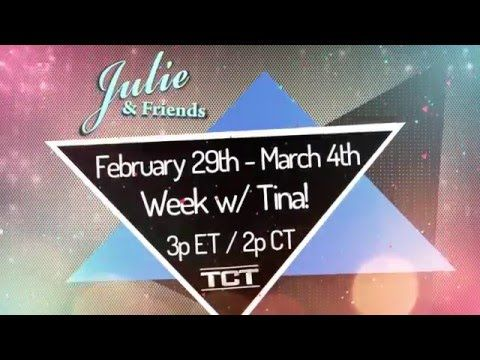 Join Julie & Friends for 'A Week with Tina'! Watch at 3p/2c on the TCT Network! www.tct.tv