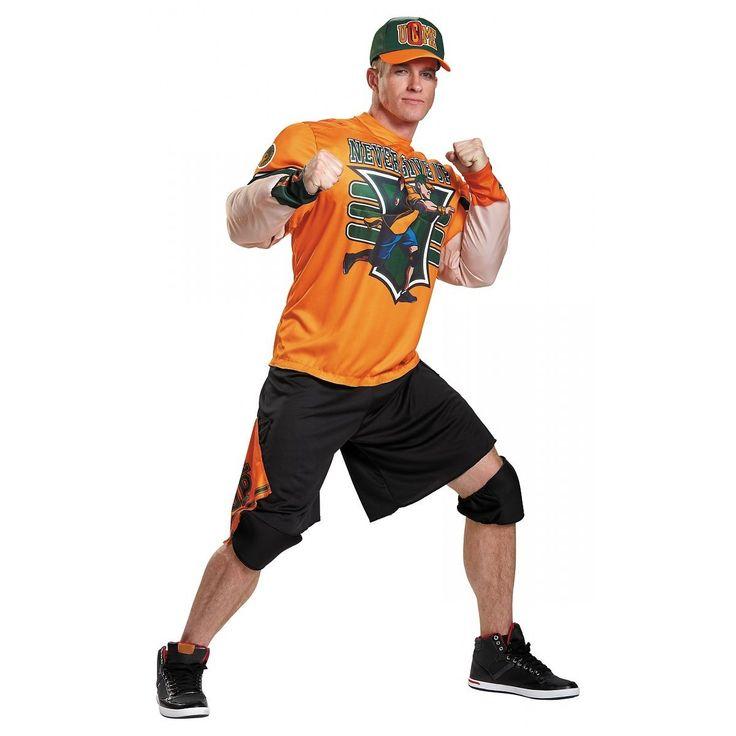 John Cena Costume Adult WWE Wrestling Halloween Fancy Dress - http://bestsellerlist.co.uk/john-cena-costume-adult-wwe-wrestling-halloween-fancy-dress/