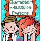 This is a set of 8 character education posters using Melonheadz cute kiddos!  The posters tell students to be: Fair Courageous Kind Helpful Thought...