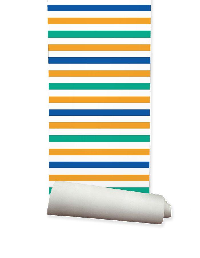 ella and sofia product solutions pty ltd - Kids Wallpaper Stripes, $195.00 (http://www.ellaandsofia.com/kids-wallpaper-stripes/)