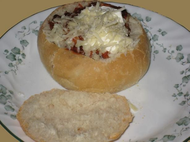 The Best Bread Bowls for the Bread Machine. This stuff is AMAZING!!!!!!!!!! Double this because it's going to disappear! Just watch bake time. 18 minutes was more than plenty. Try 15 and add time prn.