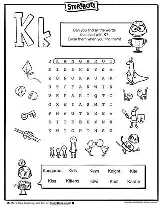 find words with these letters and one blank bet you can find all the k words just keep trying 19617
