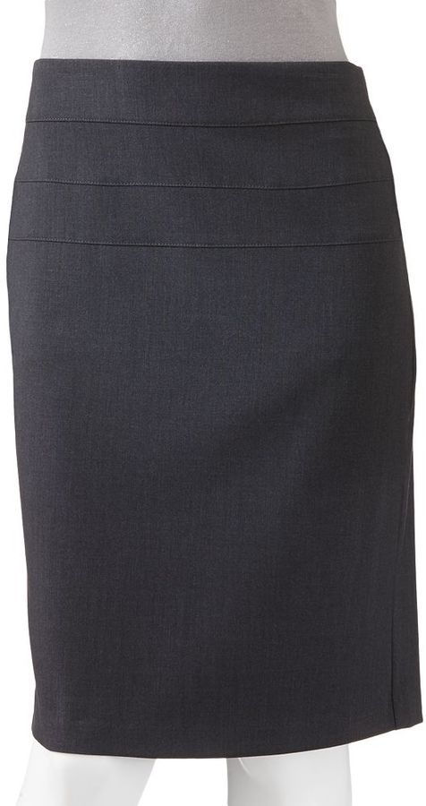 Juniors' Candie's® Slimming Pencil City Fit Skirt