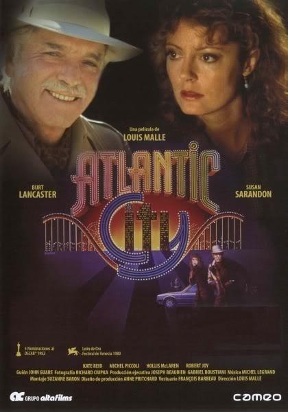 Atlantic City (1980) Canadá. Dir: Louis Malle. Drama. Mafia - DVD CINE 648