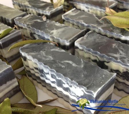 Charcoal Rice Myrtle Body Bar