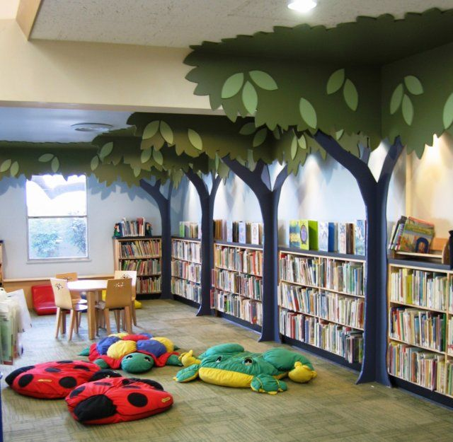 Fun And Cozy Library Design By Yta: 17 Best Images About Early Literacy Areas In Public