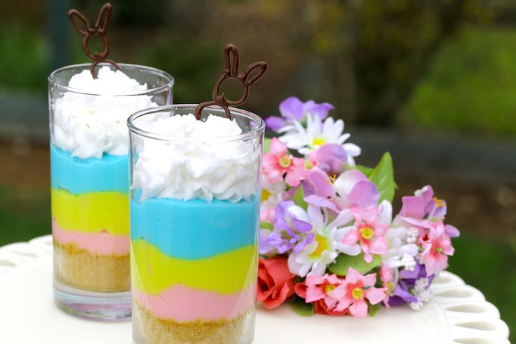 Vanilla Pudding for Easter | The Misfit Baker