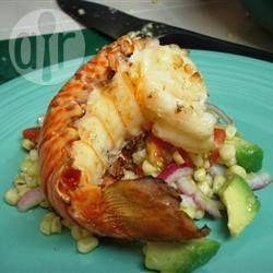 Queues de homards grillées @ qc.allrecipes.ca