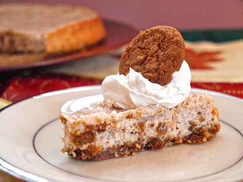 Gingersnap Cookies & Cream Cheesecake- Featured Foodie Friday w/ Oh ...