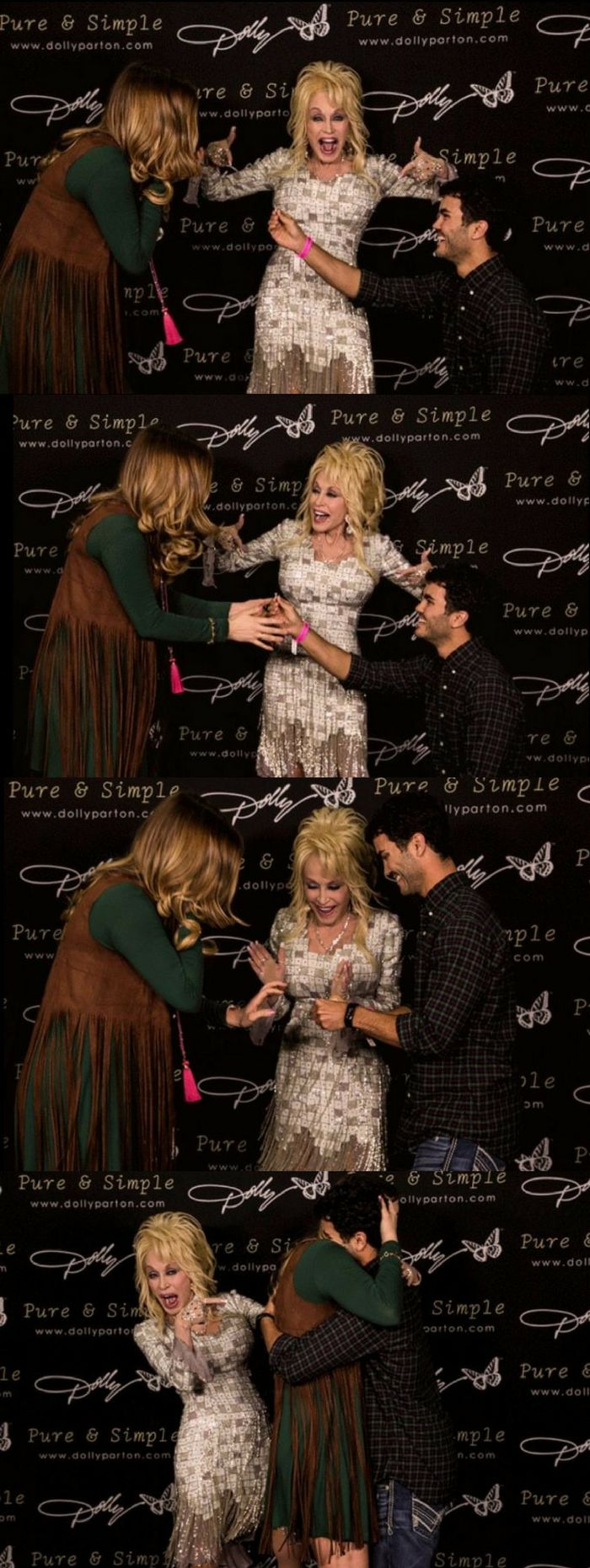 This man surprised his girlfriend AND Dolly Parton with a spontaneous marriage proposal!