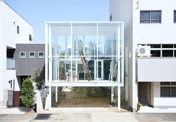 Современная японская #архитектура > http://on.fb.me/1Jk7Fge  Архитектура + природа