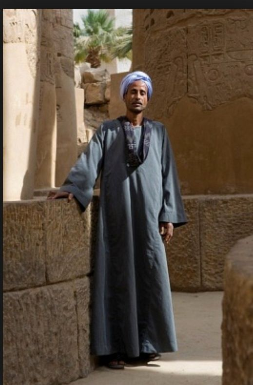 Life in modern Egypt is both modern and traditional. In the big cities, such as Cairo, you will see people wearing jeans and sneakers as well as more traditional dress. Clothing in Egypt is generally conservative because followers of Islam obey rules that require shoulders and knees of all people to be covered.