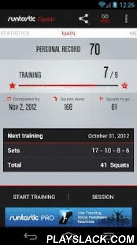 Runtastic Squats Workout  Android App - playslack.com ,  We've got that extra boost of motivation you need to knock out your best squat sets. Want strong, defined legs, thighs and a firm butt? Get the free Runtastic Squats Workout app and challenge yourself - no equipment needed, only yourself and a good attitude. Turn your smartphone into a PERSONAL SQUATS TRAINER who accompanies you, step by step, towards your goal. Challenging? Yes. Too difficult? Not at all! Squats not only strengthen…