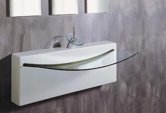 17 best ideas about glass basin on pinterest glass sink for Designer bathroom sinks basins