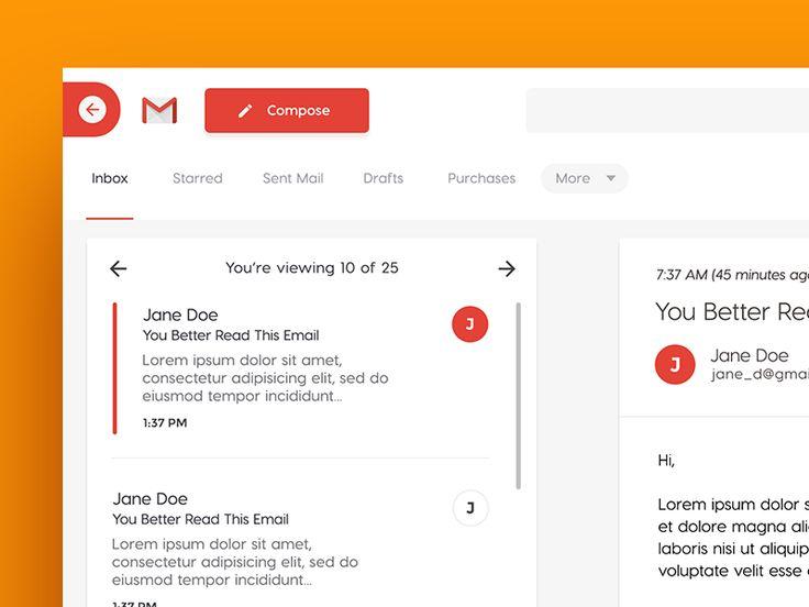 Gmail concept