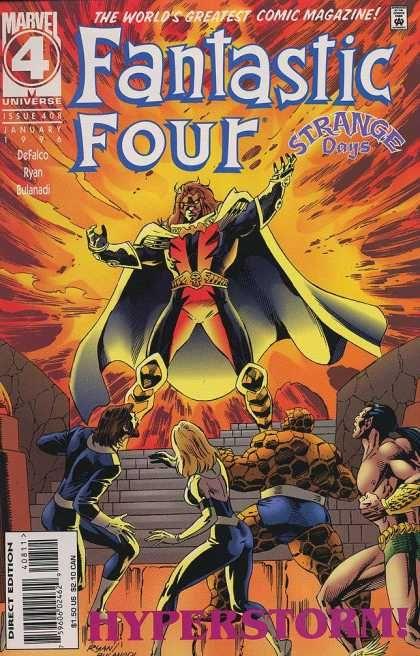 Fantastic Four - Marvel - Hyperstorm - Issue 408 - 1996 - Paul Ryan
