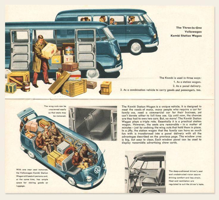 1958/59 Volkswagen Bus Brochure I OldBrochures.com
