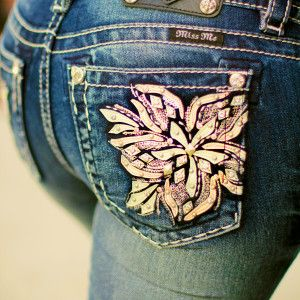 Miss Me Blush Blossom Jeans on SALE!!  Sale Price $69.99!!  Regular $109.50.  ~ 105 West Boutique located in Abbeville, SC.  Shipping $5.  (864) 366-WEST.  Look for us on Facebook!