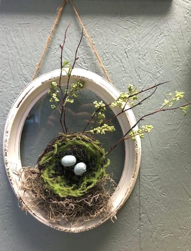 Easter Spring Easter Decor Diy Spring Wreath Spring Diy