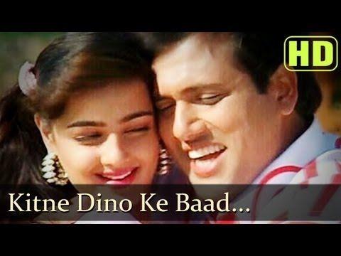 ▶ Kitne Dino Ke Baad - Govinda - Mamta Kulkarni - Andolan - Bollywood Songs - Alka Yagnik - Kumar Sanu - YouTube