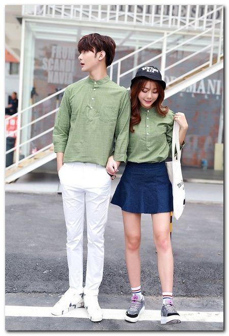 Korean Street Fashion for Couple Outfit