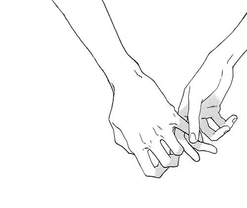 Line Drawing Holding Hands : No matter who comes into yor life i ll love you more than