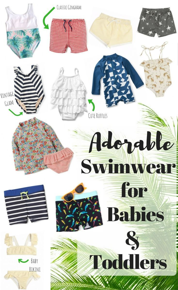 cute swimwear for babies and toddler // cute swimwear for little girls // swimwear for little boys // swimsuits for boys // best swimwear for babies // swimsuits for toddlers //