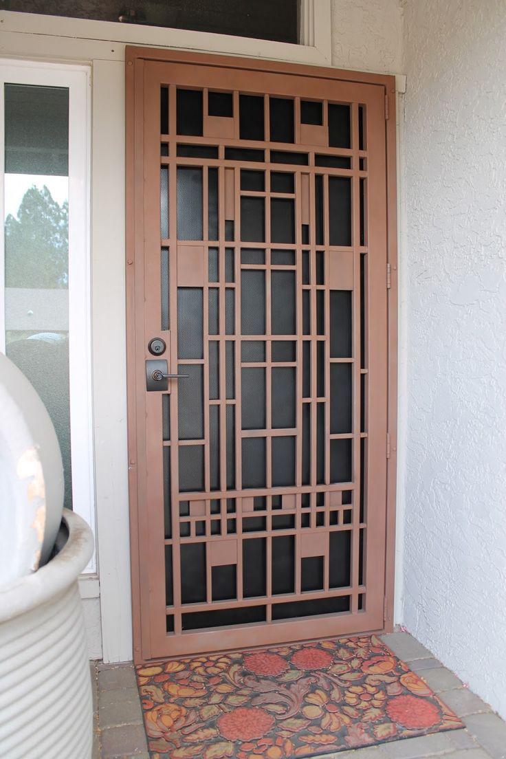 Best 25 Steel Security Doors Ideas On Pinterest Security Door Grill Door Design And Security