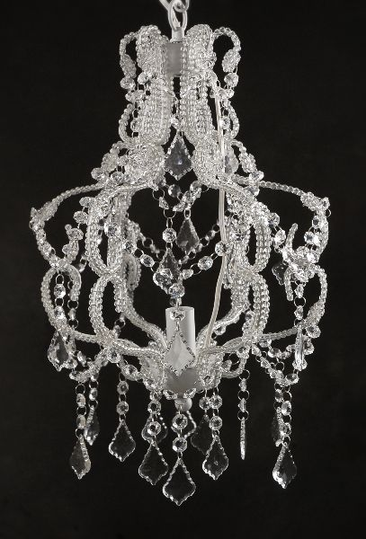 Victorian Crystal Hanging Chandelier Light $59 Electric. I am going to order this for caitlyns room.