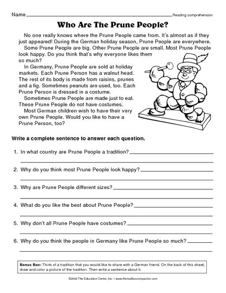 christmas reading comprehension worksheets 2nd grade 3rd grade christmas worksheets free. Black Bedroom Furniture Sets. Home Design Ideas