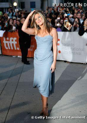 Jennifer Aniston : un canon de beauté pour cloturer le Festival de Toronto