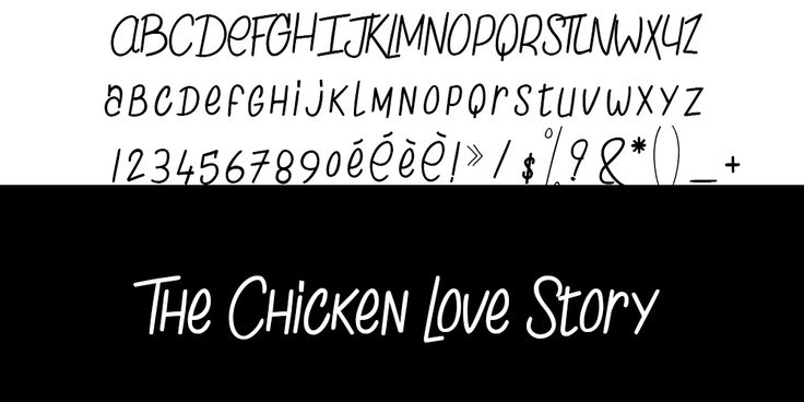 The Chicken Love Story typo