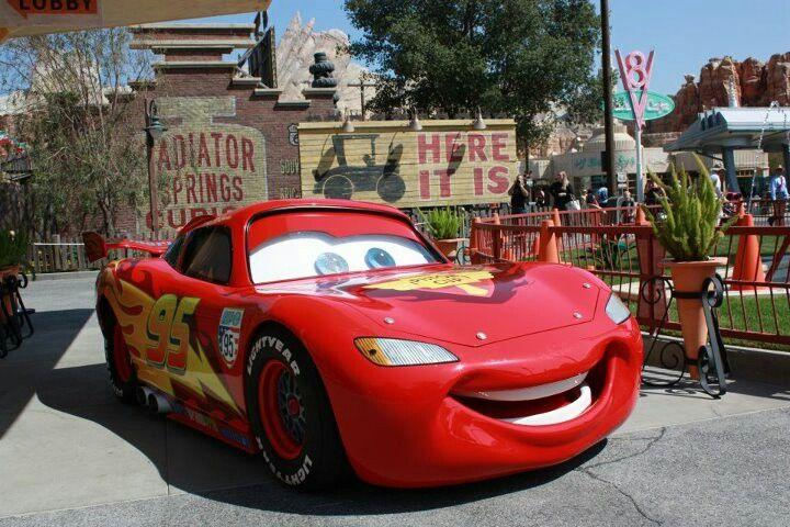 Cars Disney Park