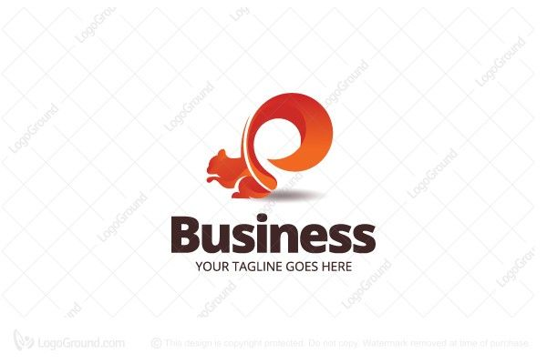 Logo for sale: Squirrel Logo