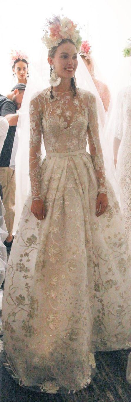 Naeem Khan Bridal Fall 2016
