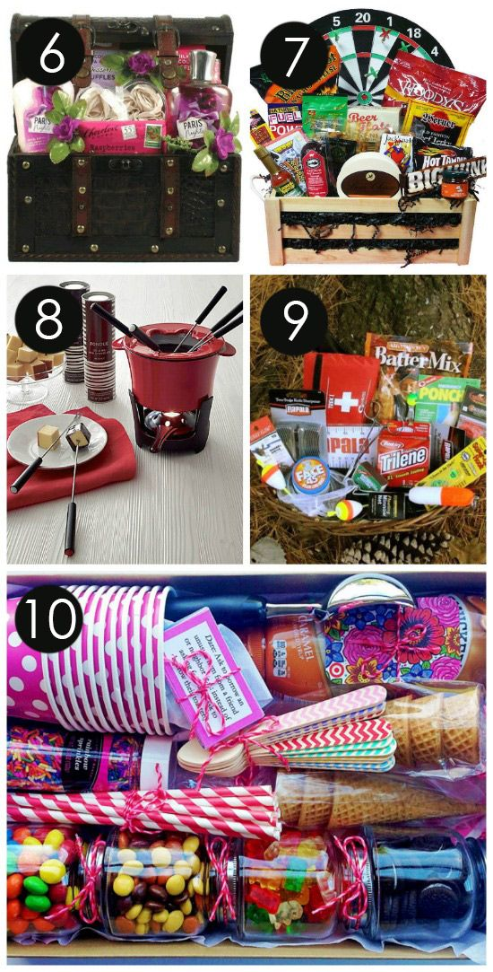 10 Date Night Themed Picnic Baskets Giveaway! | CatchMyParty.com