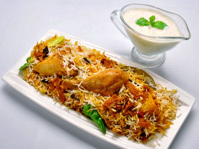 Enjoy some awesome, authentic Chicken Biryani at The Lounge...For table reservations, call +91 20 4018 8444