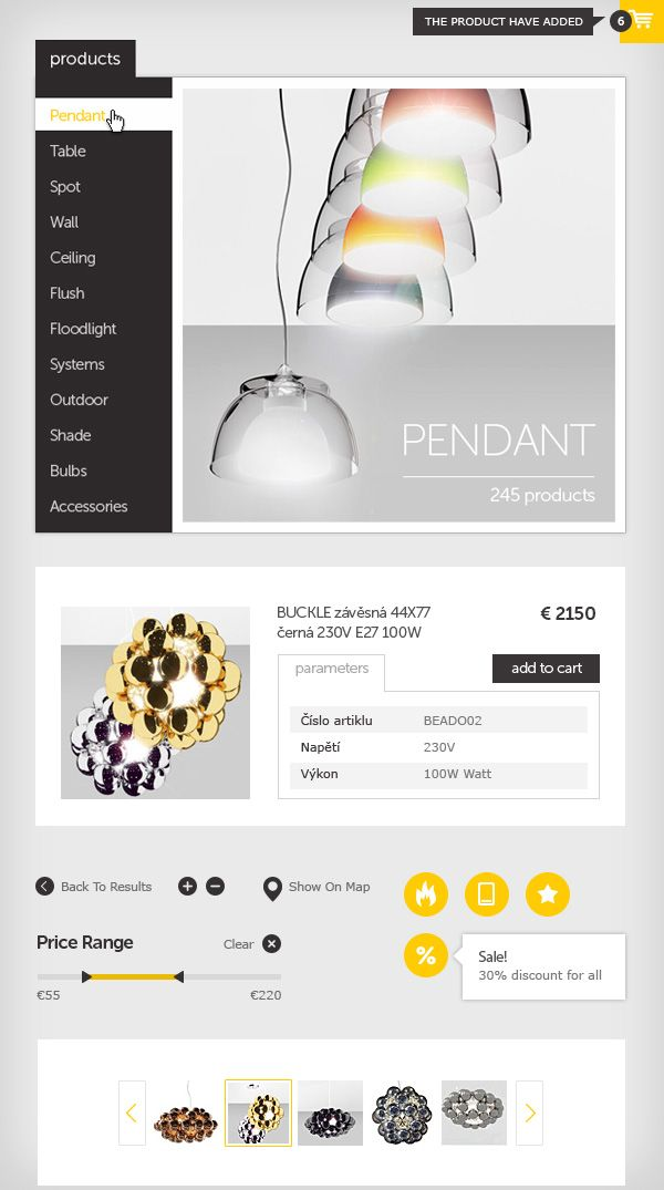 Logo and responsive ecommerce website design